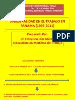 Siniestralidad en El Trabajo en Panama (1999-2011)