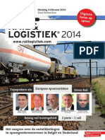 Folder Rail en Logistiek 2014