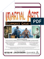 Martial Arts - Techniques Cheat-Sheet