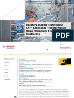 Bosch Packaging Technology: SAP Landscape Transformation Helps Harmonize Financials and Controlling