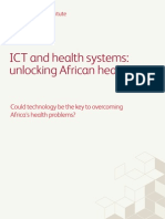 BearingPoint Institute - ICT and Health Systems, Unlocking African Healthcare