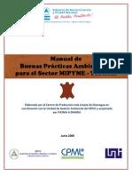 Manual Buenas Practicas Ambientales en Tenerias