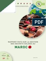 Rapport Pays Sur La Gestion Des Dechets Solides Au Maroc