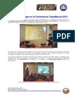 2013-10-29 Andalucía participa TopoMurcia 2013 FAE