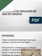 3- ATRIBUIÇÕES DO CIRCULANTE EM SALA DE CURURGIA