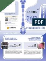 CAMON Murcia. Programación. Noviembre 2013. Obra Social. Caja Mediterráneo