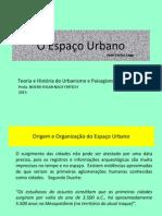 LAGE, José Carlos - O espaço urbano aula 01