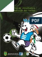 Proceso de enseñanzaaprendizaje del fútbol