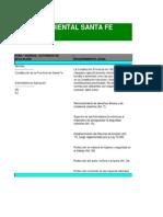 Matriz Ambiental Santa Fe