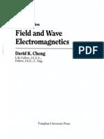 Field and Wave Electromagnetics Cheng كهرومغناطيسية