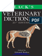 BLACK VETERINARY DICTIONARY