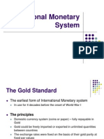 International Monetary System .ppt