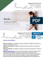 Obras de nueva edificación. Licencias de Actividad Madrid