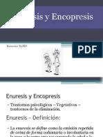 Enuresis y Encopresis