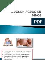 ABDOMEN AGUDO EN NIÑOS - Jorge Renteros Parra