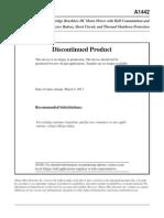 Allegro Brushless Driver Micro A1442-Datasheet