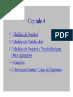 Medidas de posición y variabilidad