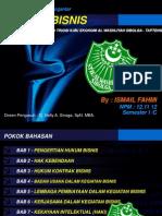 Hukum Bisnis by Ismail Fahmi NPM 12-1112.ppt