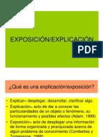 EXPOSICIÓN-EXPLICACIÓN