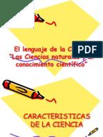 El Lenguaje de La Ciencia ORIGINAL