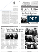 Versión impresa del periódico El mexiquense  29 octubre 2013