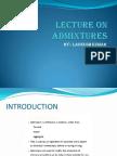 admixture types