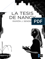Ramón J. Sender. La tesis de Nancy