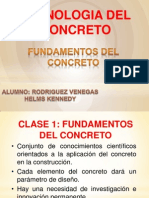 Clase 1 Concreto