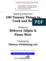 Lovereading4kids-100 Yummy Things to Eat by Rebecca Gilpin, Fiona Watt