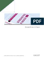 gallupreport pdf streagth finder