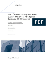 CERT® Resilience Management Model (CERT®-RMM) V1.1