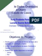 Banco de Dados Orientado a Objeto BDOO
