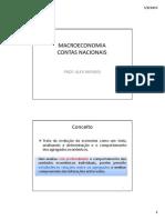 Alex Mendes - Macroeconomia - Contas Nacionais - Bacen Analista