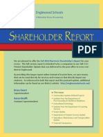 Englewood Schools Fall 2013 Shareholder Report