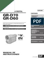 JVC GR-D60E Instrucciones