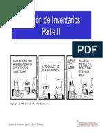 17 - Gestion de Inventarios (Parte II)