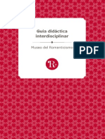 Guía Didáctica Interdisciplinar_Museo del Romanticismo