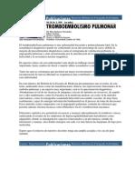 El Tromboembolismo Pulmonar