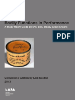 Bodily Functions In Performance