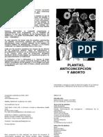 Plantas, Anticonceptivos y Abortoportafa