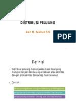 6-7. Distribusi Peluang Diskrit dan Kontinu - Copy.pdf