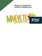Programa Muévete Tomasino  FEST 2014