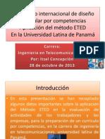 Aplicacion Del Metodo ETED Itzel Concepcion