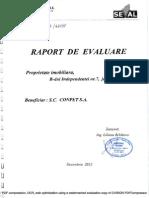 Raport evaluare Independenta