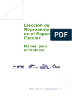 Manual de Eleccion de Representantes