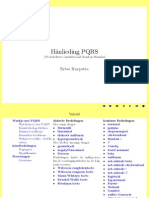 PQRS Manual Frysk