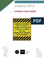 CALENDARIO 2014 per Gatti e Cani