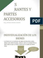 CLASE III - PARTES INTEGRANTES Y PARTES ACCESORIOS.pptx