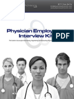 Physician Employment Interview Kit