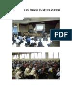 DOKUMENTASI PROGRAM SELEPAS UPSR